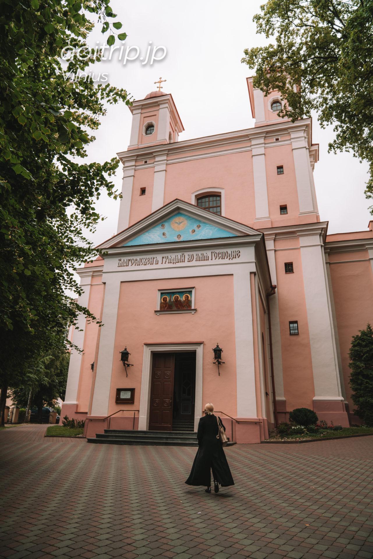 リトアニアのヴィリニュスの聖霊教会