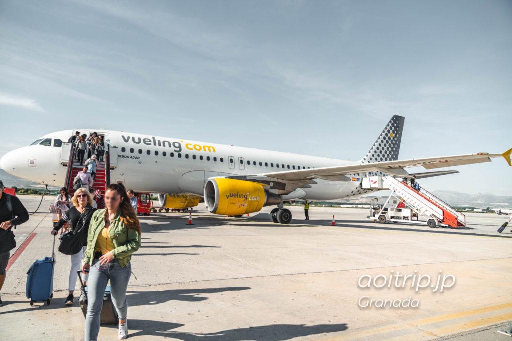 グラナダ空港から市内までの行き方(バス、タクシー)