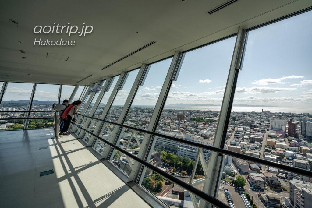 五稜郭タワーの展望台