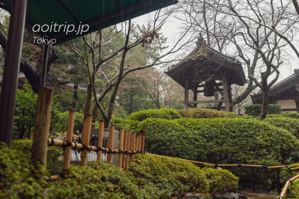 ザ プリンス さくらタワー東京の日本庭園