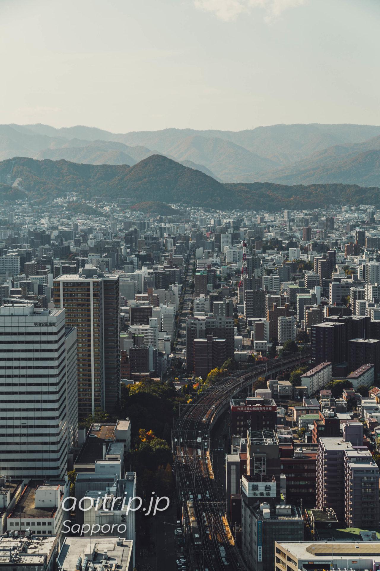 札幌JRタワー展望室T38からの眺望