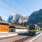 スイス グリンデルワルト駅