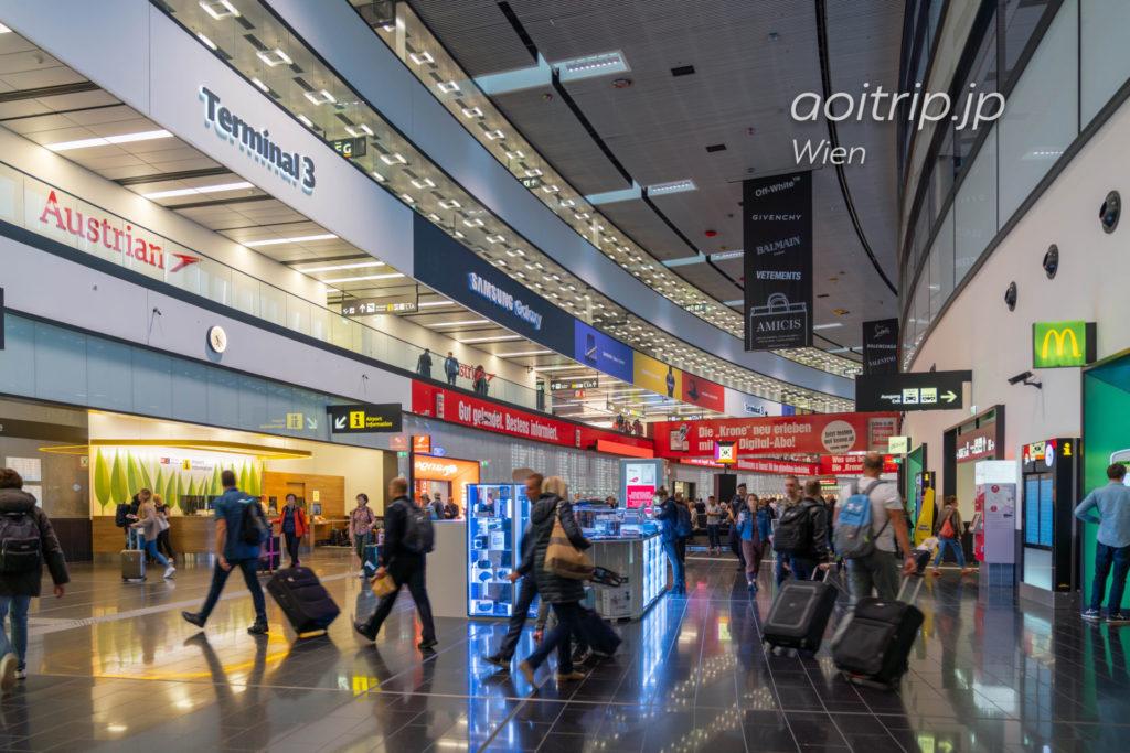 オーストリアのウィーン国際空港