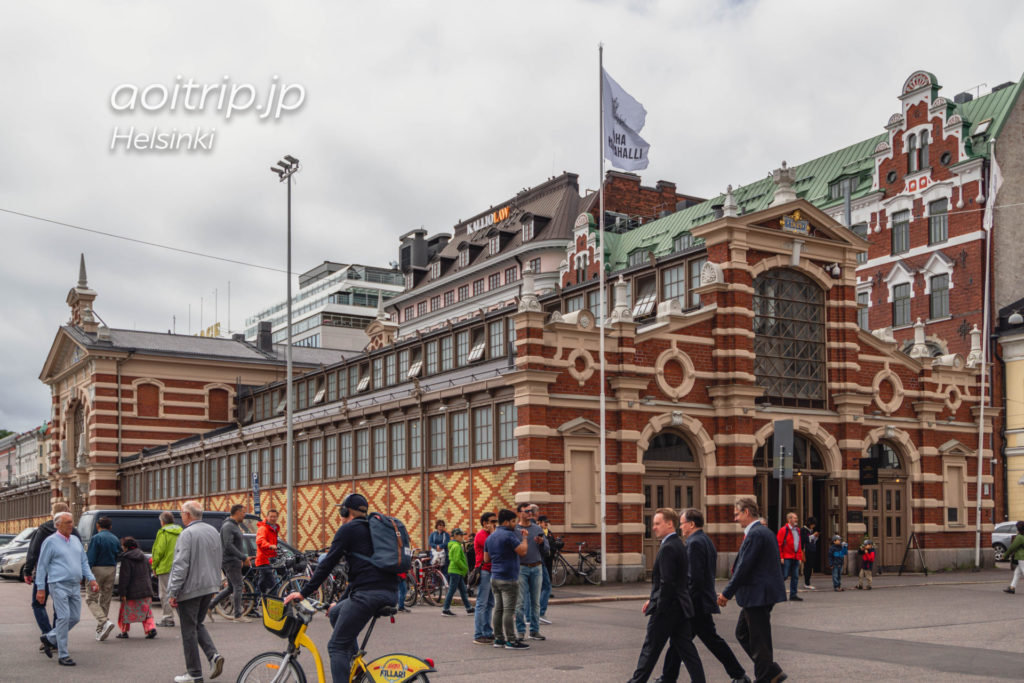 ヘルシンキのオールドマーケットホール