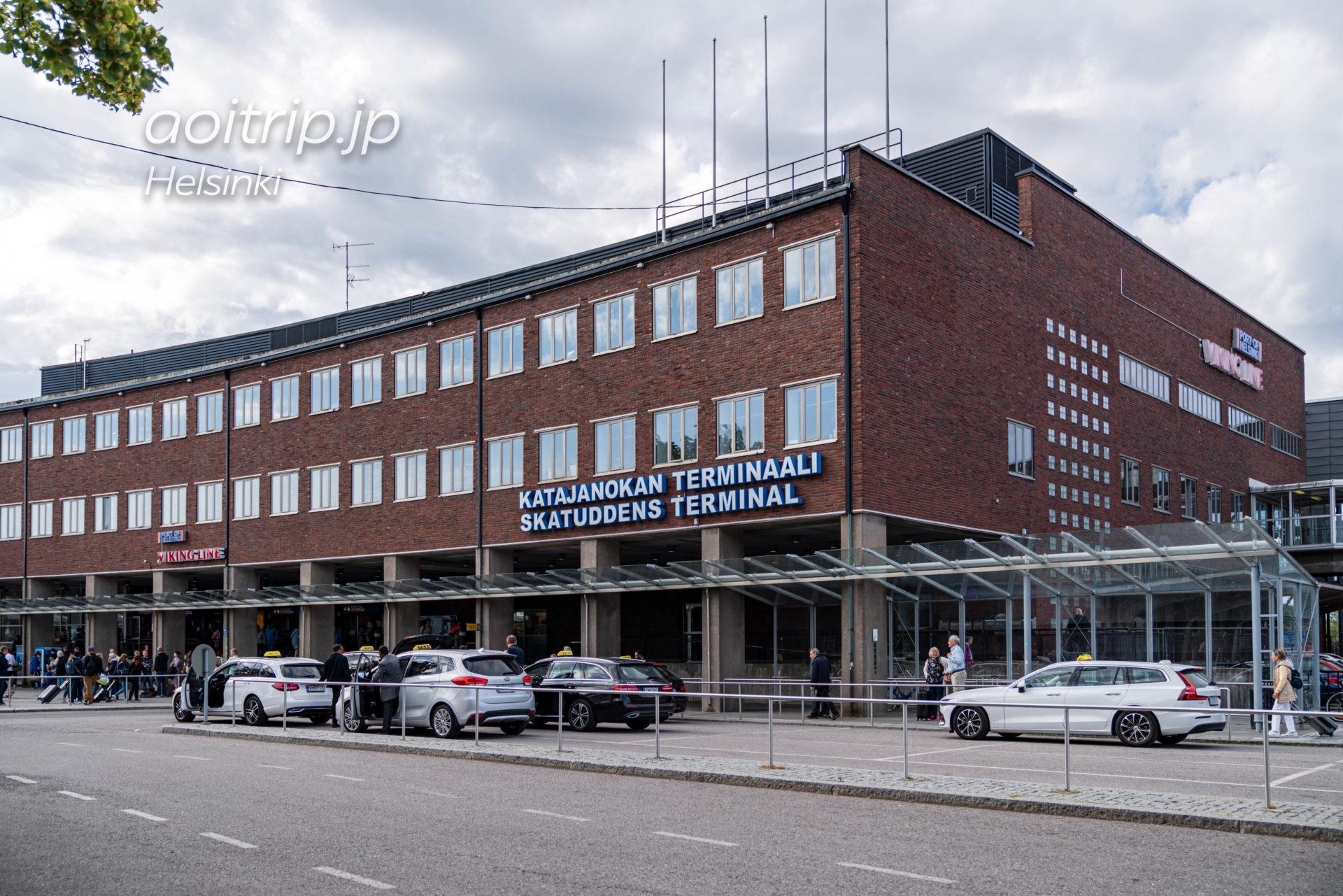ヴァイキングライン Viking Lineのフェリー乗り場「Skatuddens Terminal(スカツデンツ ターミナル)」