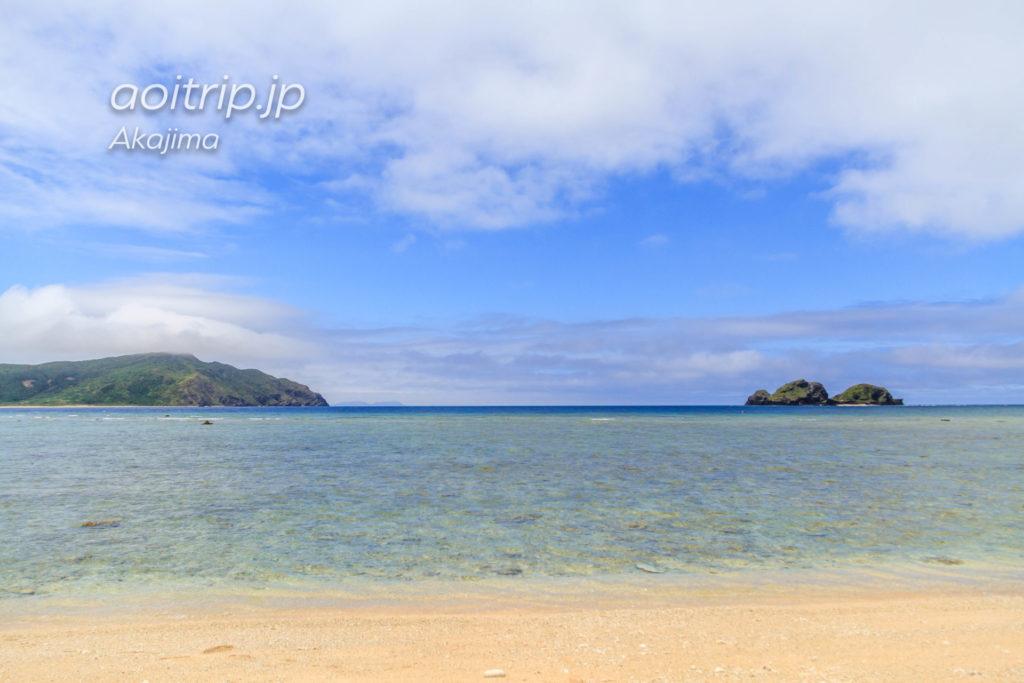 阿嘉島の後原ビーチ(クシバルビーチ)