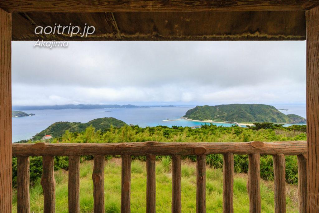 阿嘉島の中岳展望台からの眺望
