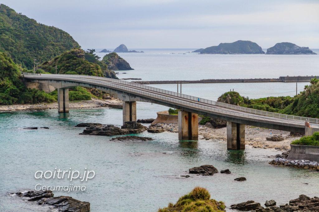 慶留間島のアジャヌムトゥ展望台