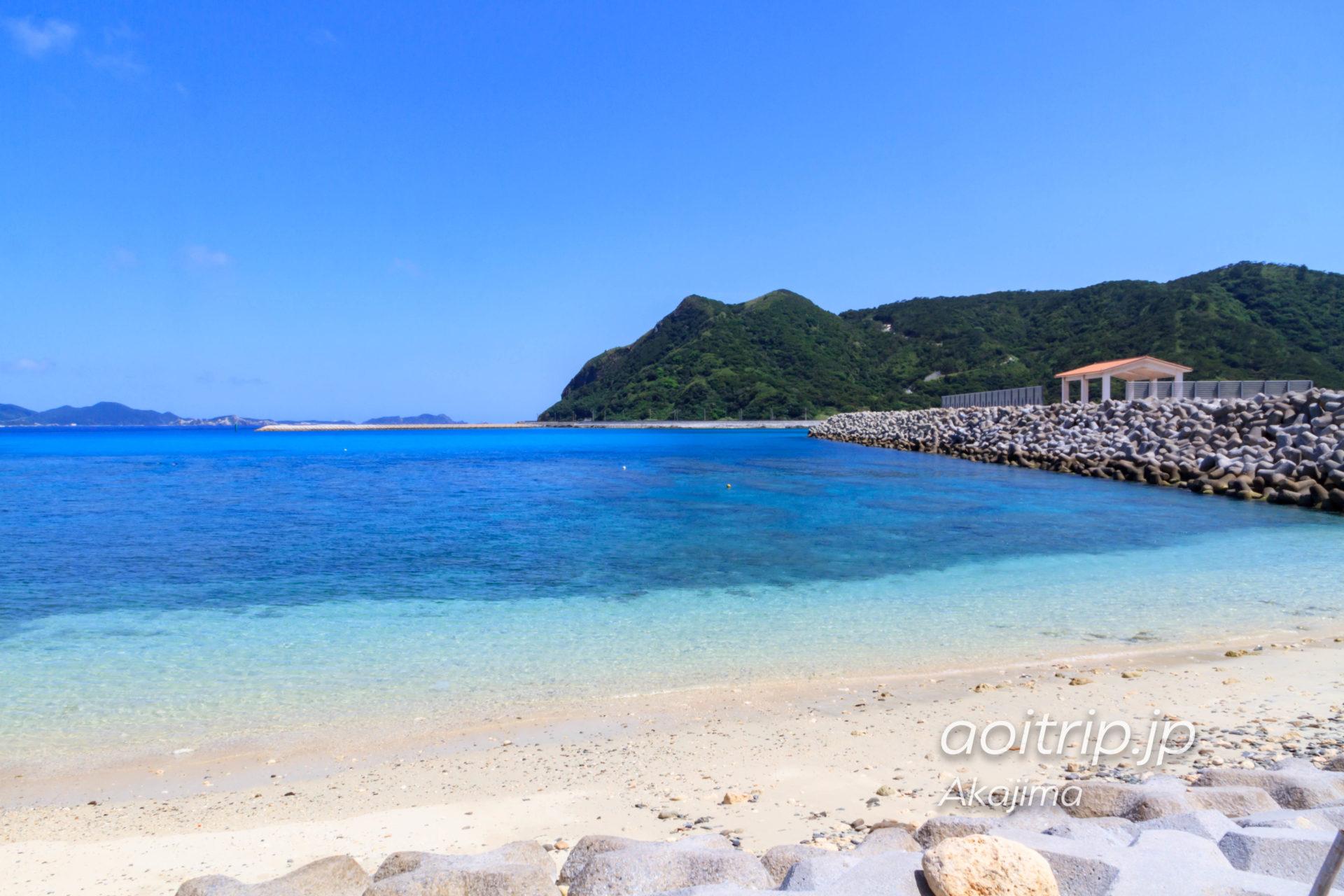 阿嘉島の阿嘉ビーチ