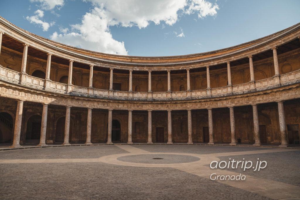 グラナダ アルハンブラ宮殿のカルロス5世宮殿