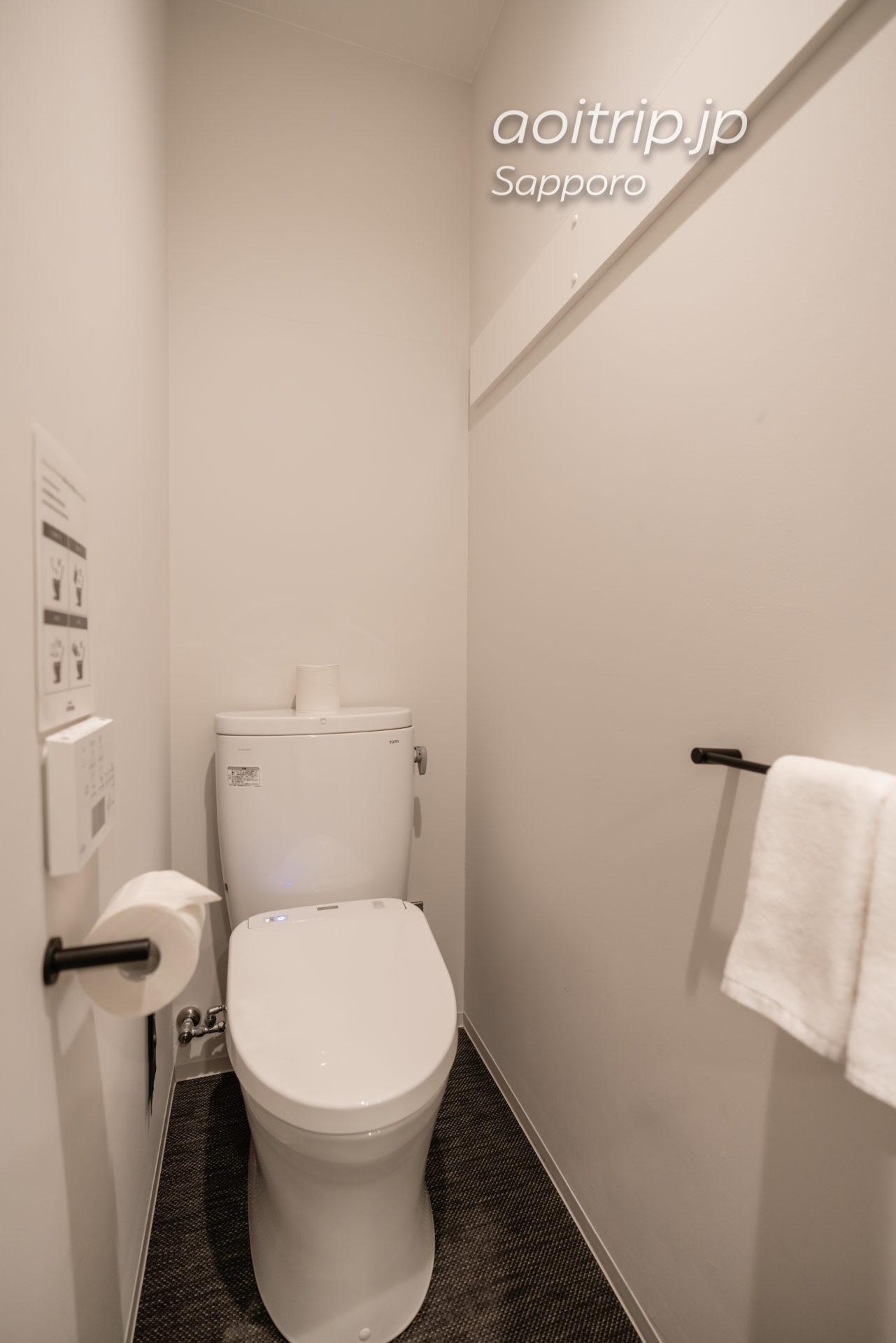 ホテル ポットマムのトイレ
