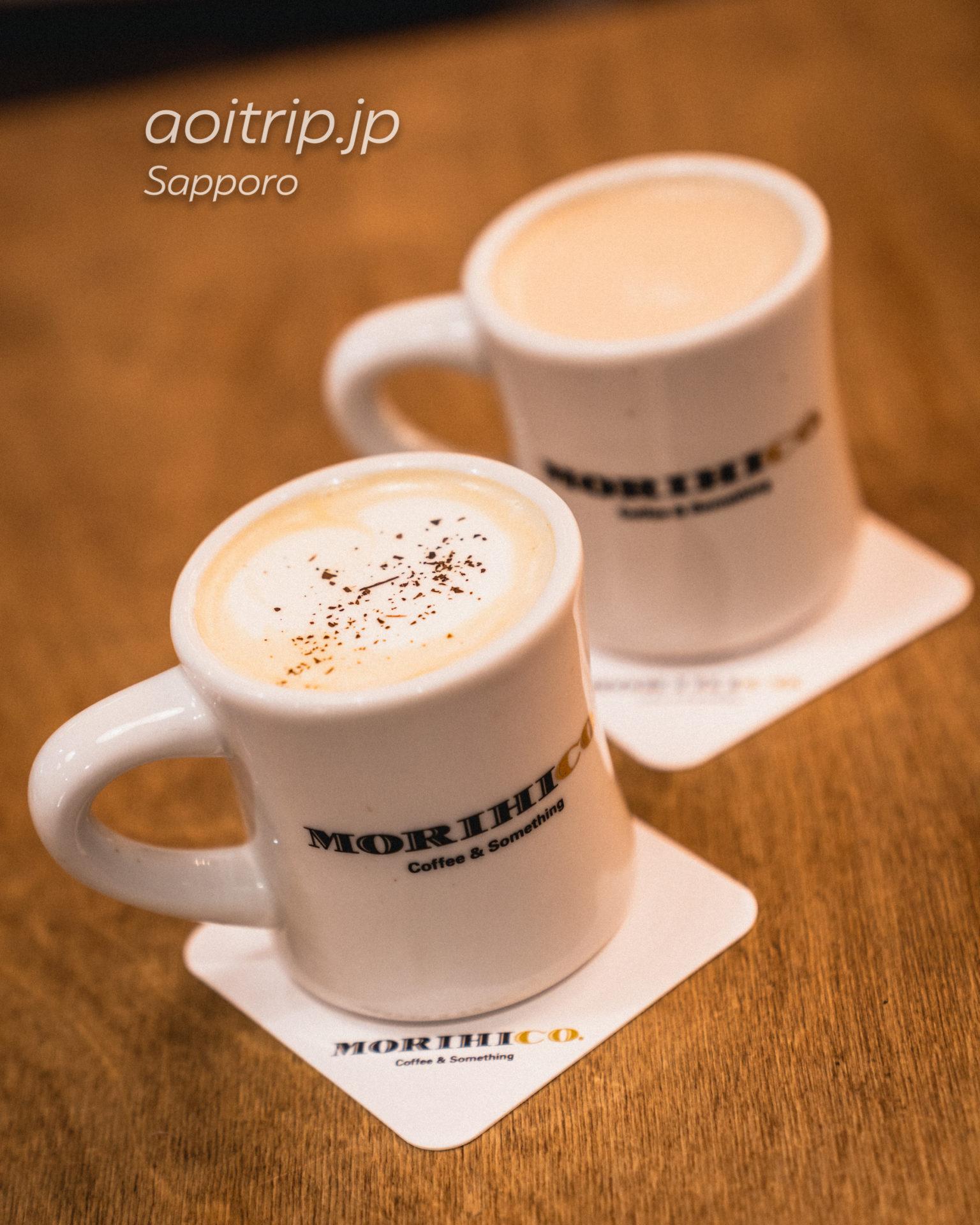 ホテル ポットマムの1Fモリヒココーヒー
