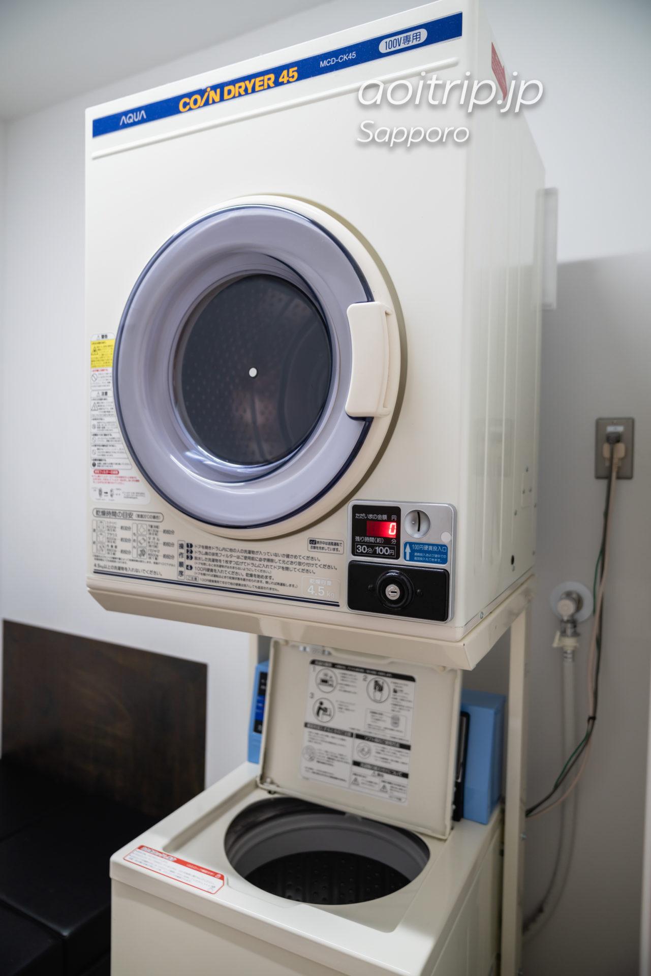 ホテル ポットマムの洗濯機
