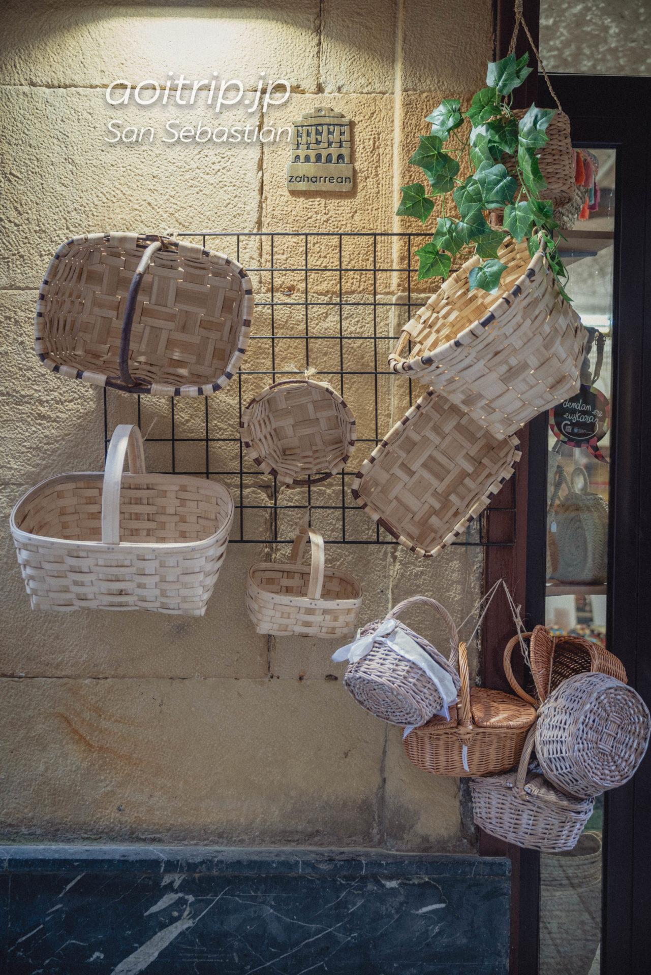 スペイン・サンセバスティアンの雑貨屋さんCesteria Iriondo
