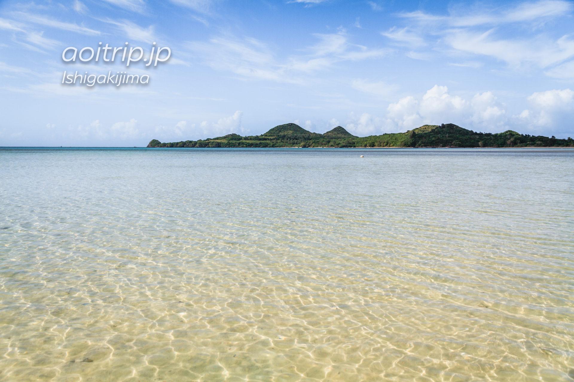 底地ビーチ 日本一早く夏を宣言する海水浴場(石垣島)|Sukuji Beach, Ishigaki Island