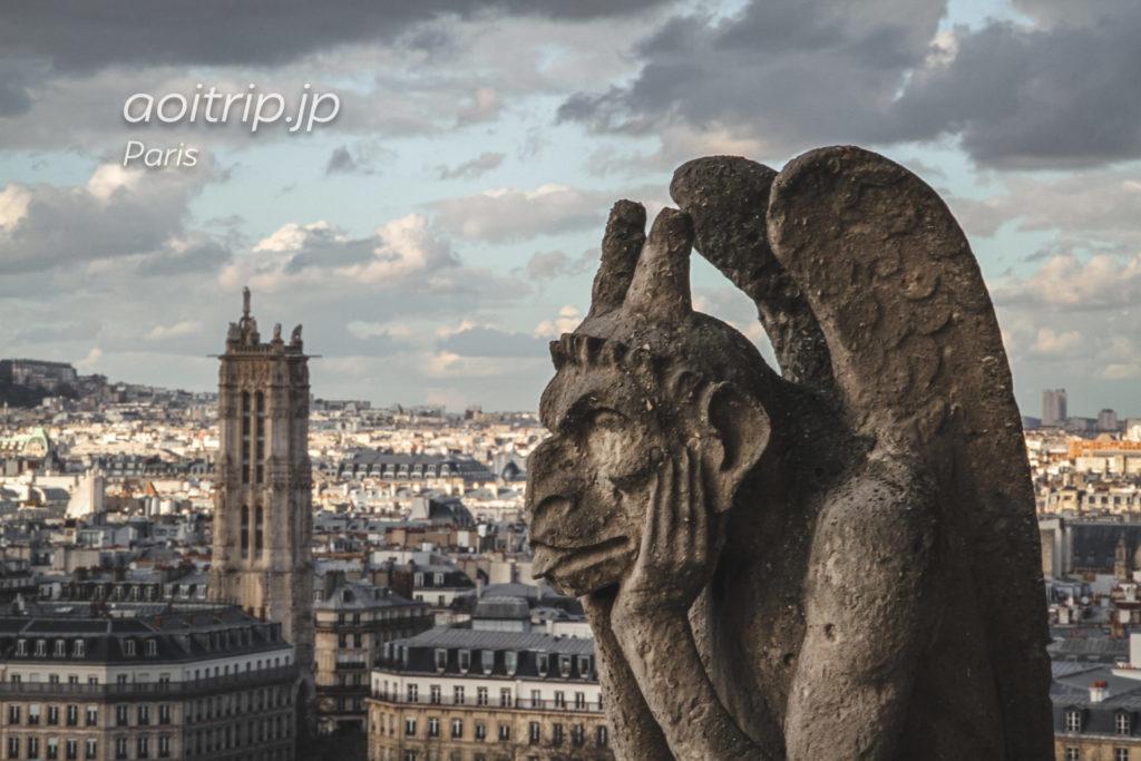 ノートルダム大聖堂(Cathédrale Notre-Dame de Paris)の塔