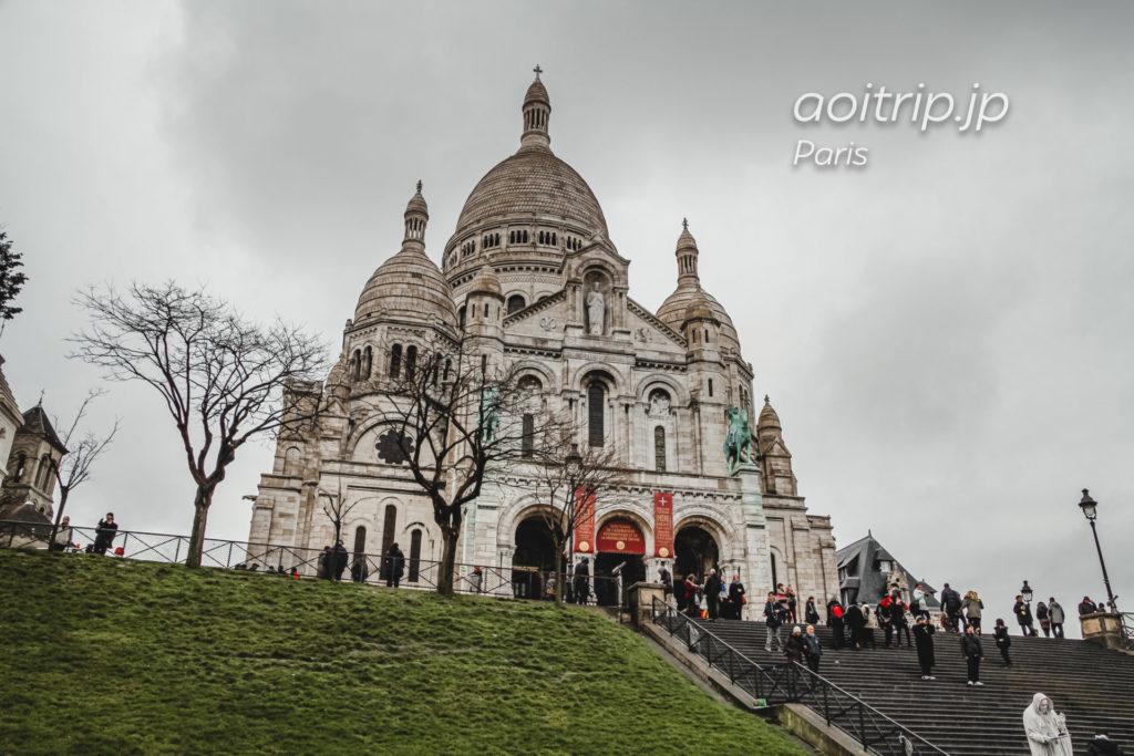パリ モンマルトルのサクレクール寺院