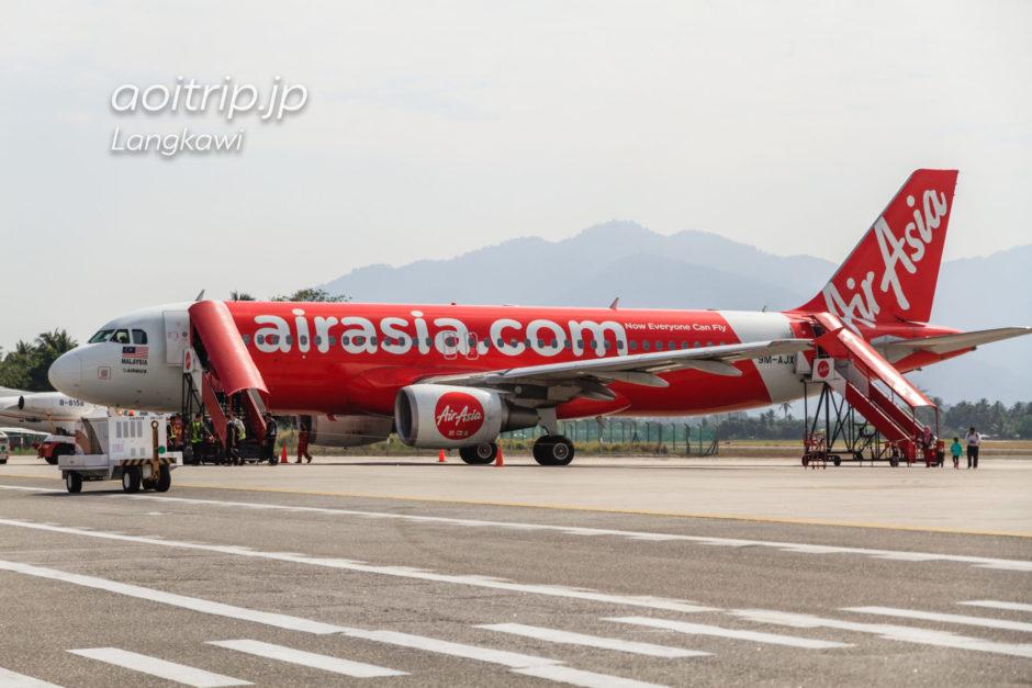 ランカウイ国際空港のエアアジア