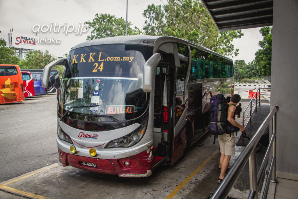 KKKL Expressのバス