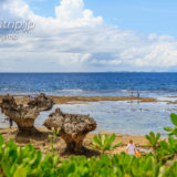 古宇利島 ティーヌ浜のハートロック