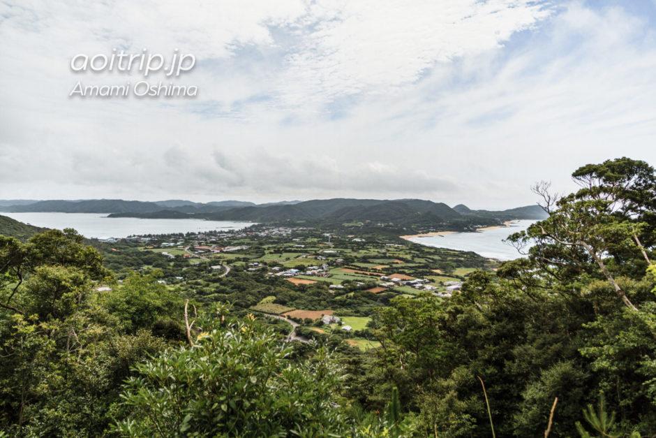 奄美大島 2つの海が見える展望台