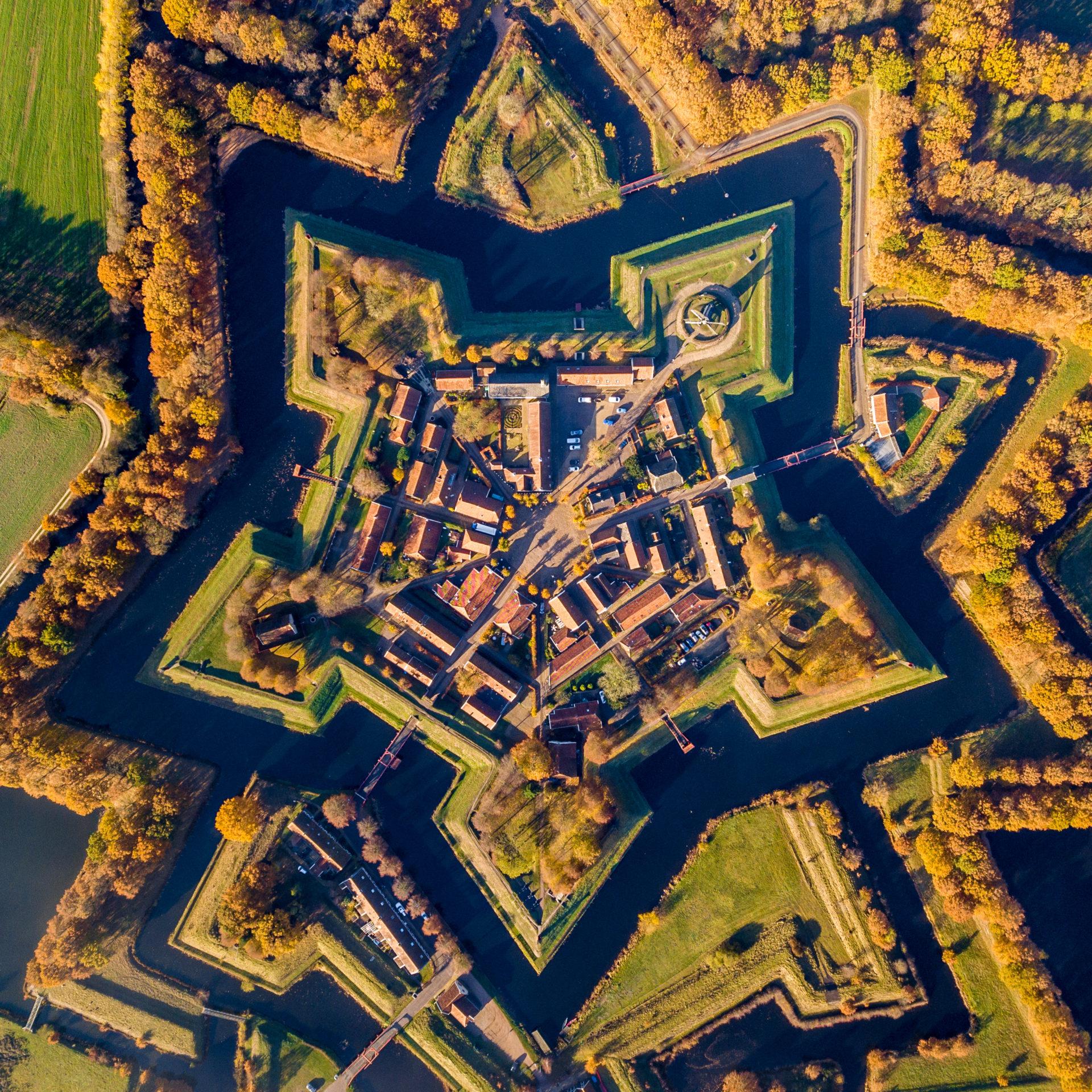 バウルタンゲ 星型要塞