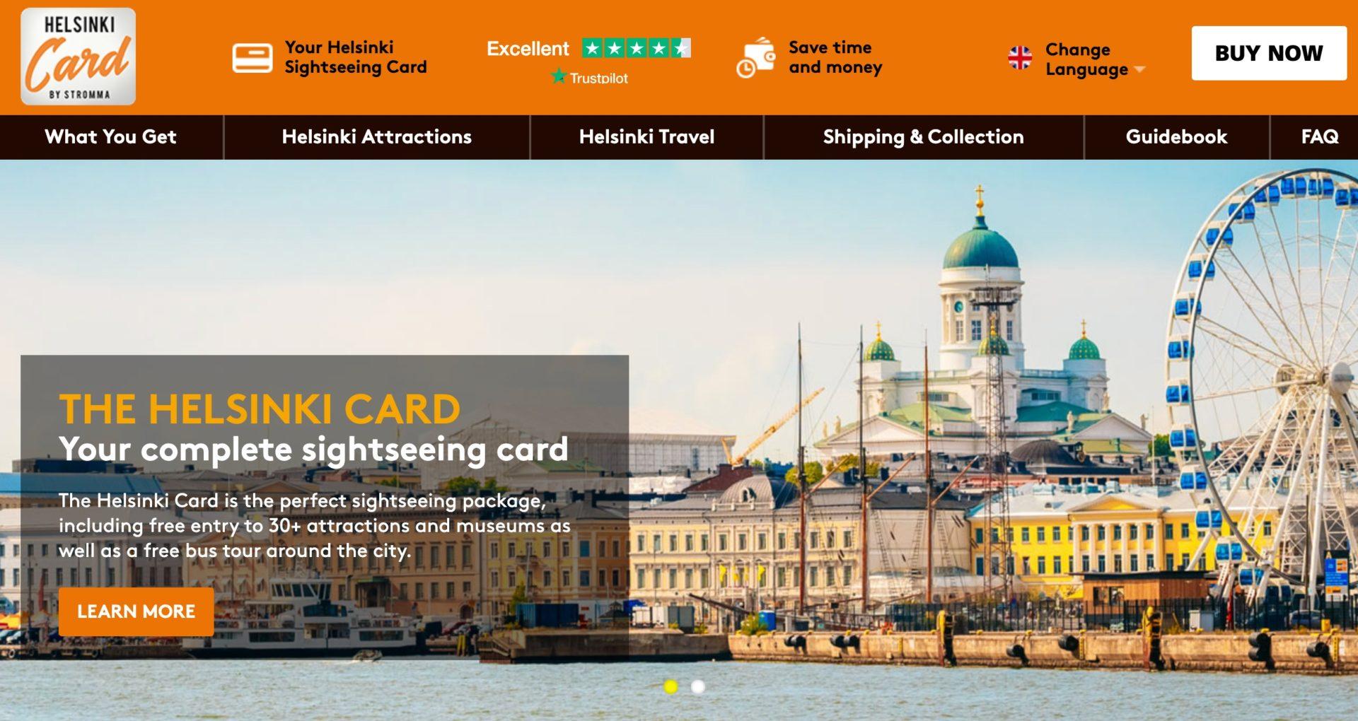 ヘルシンキカードの料金・割引情報・旅のプランについて|Helsinki Card