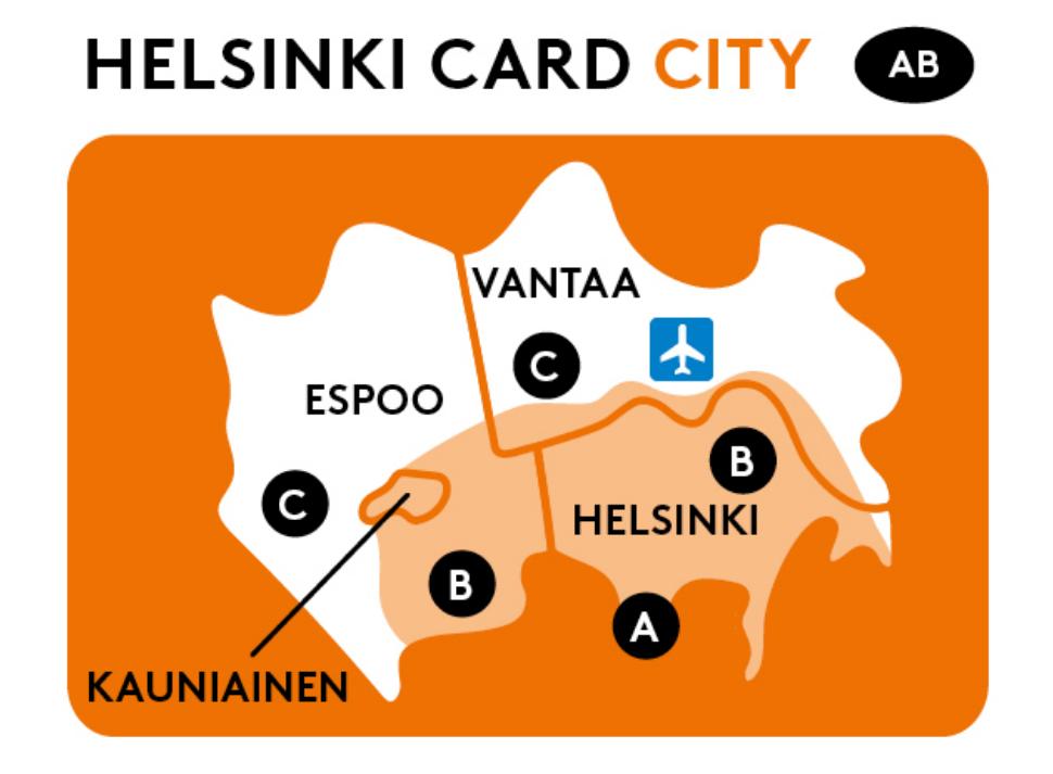 ヘルシンキカード シティ Helsinki Card City