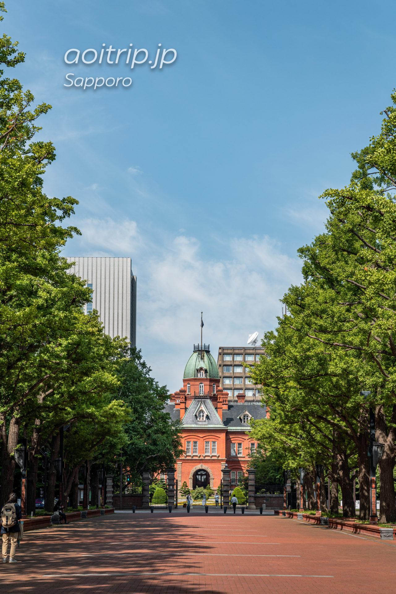 夏の北海道庁赤れんが庁舎 (旧本庁舎)