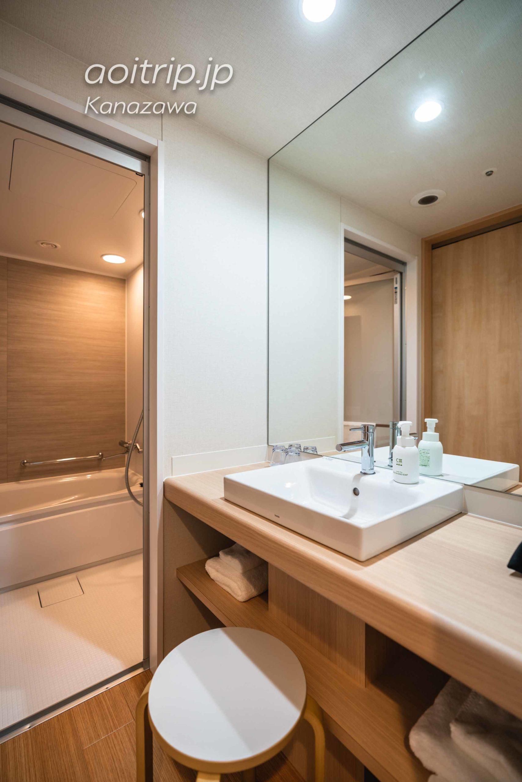 ダイワロイヤルホテルD-Premium金沢 バスルーム