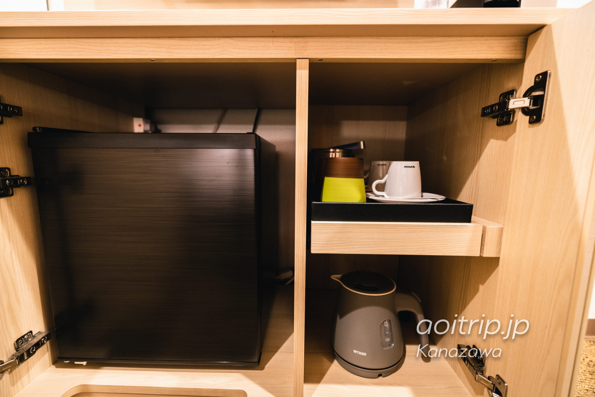 ダイワロイヤルホテルD-Premium金沢 冷蔵庫