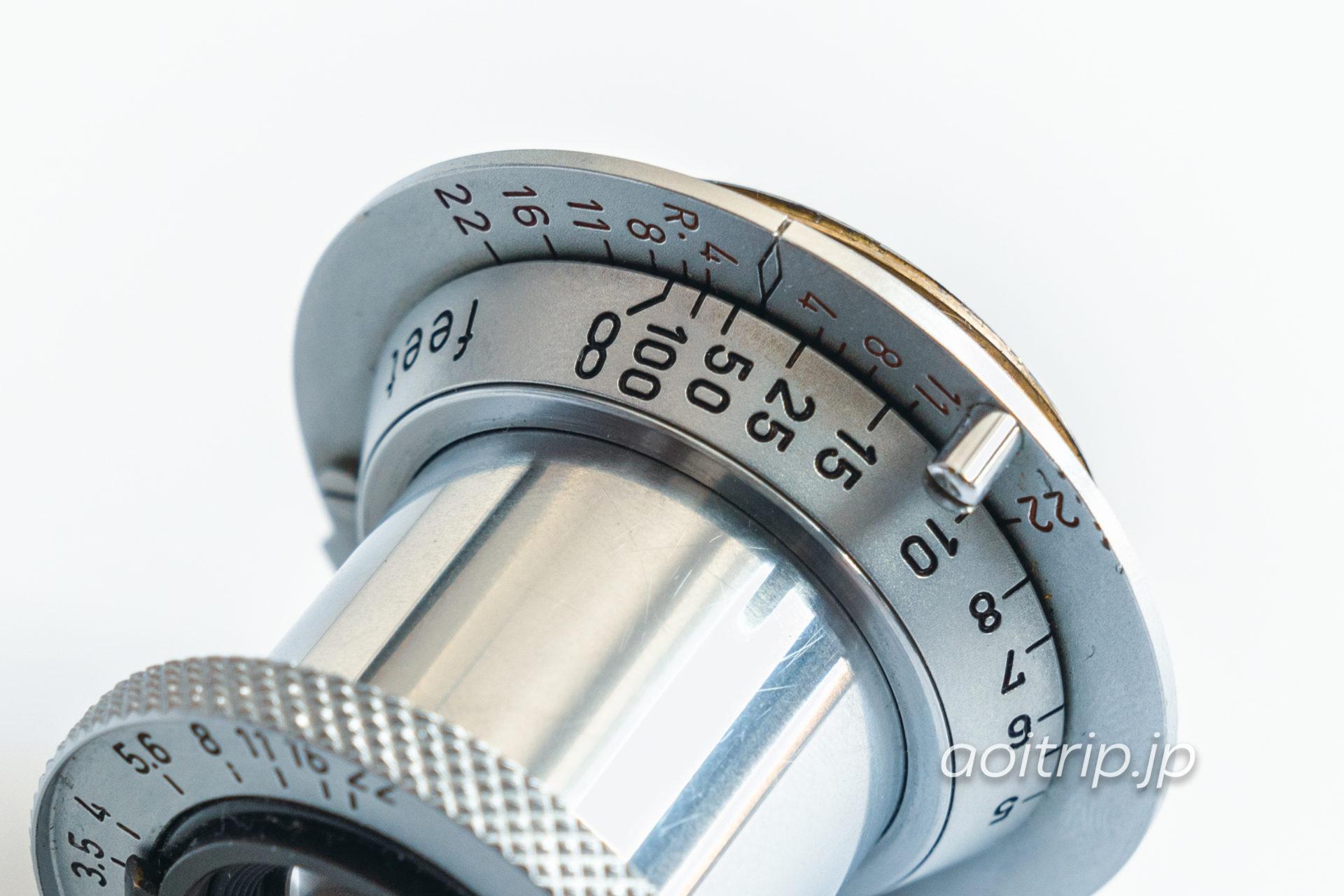 ライカ50mm F3.5 赤エルマー ダイヤモンドマーク(Leica 50mm F3.5 Red elmar with diamond mark)|オールドレンズ