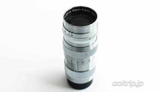 日本光学 Nikon Nikkor-Q・C 135mm F3.5|オールドレンズ