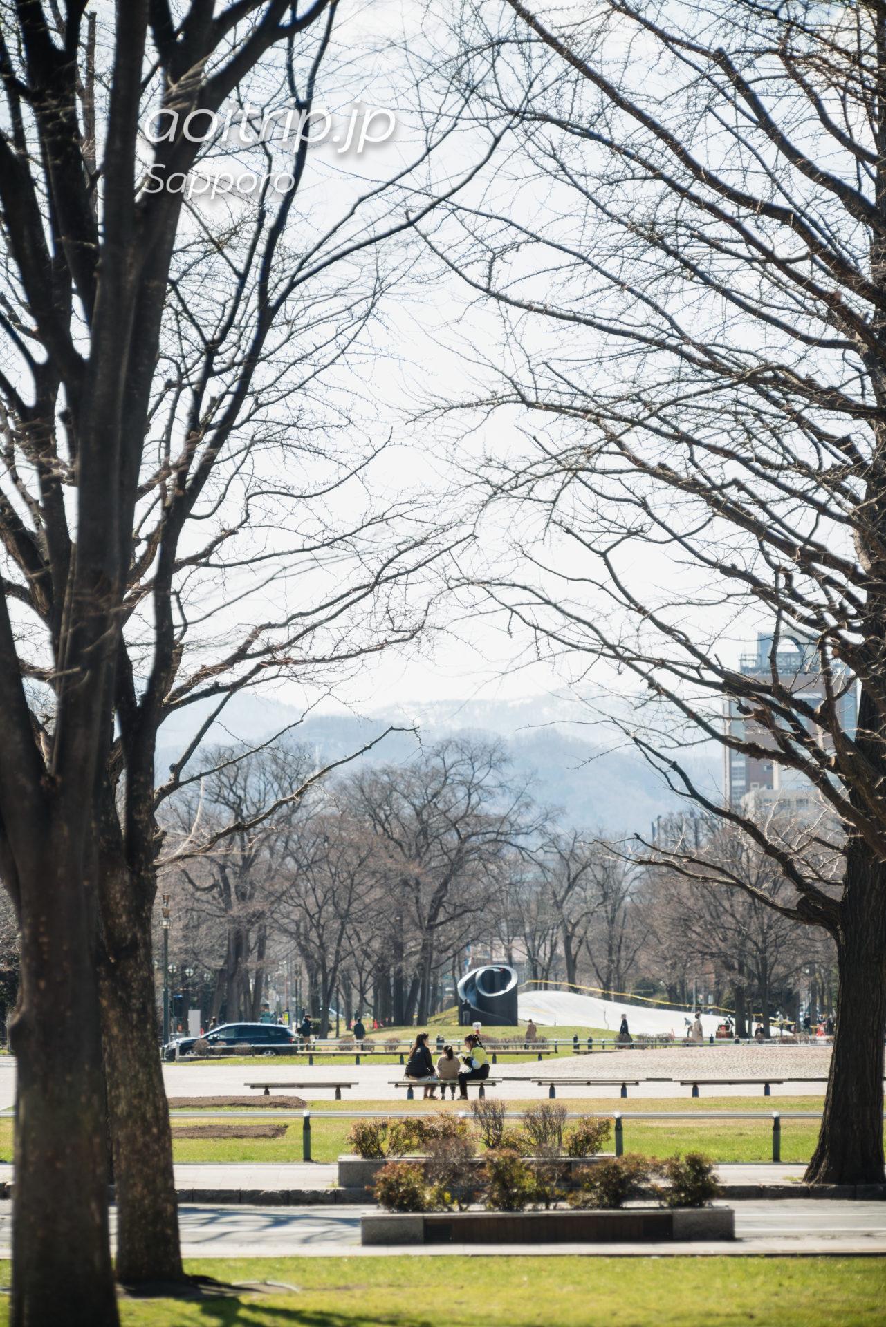 日本光学 Nikon Nikkor-Q・C 135mm F3.5の作例 札幌大通公園