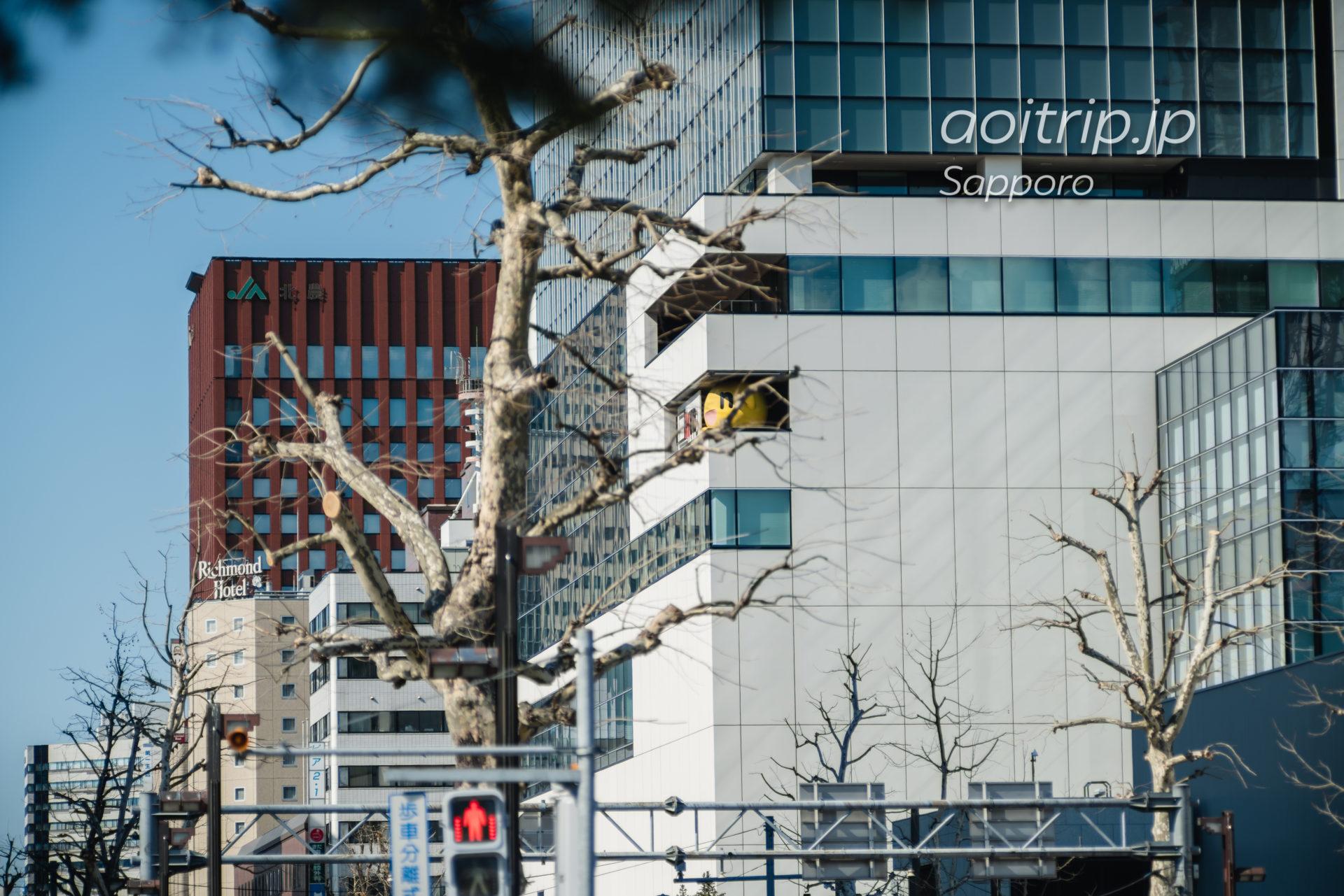 日本光学 Nikon Nikkor-Q・C 135mm F3.5の作例 HTB本社