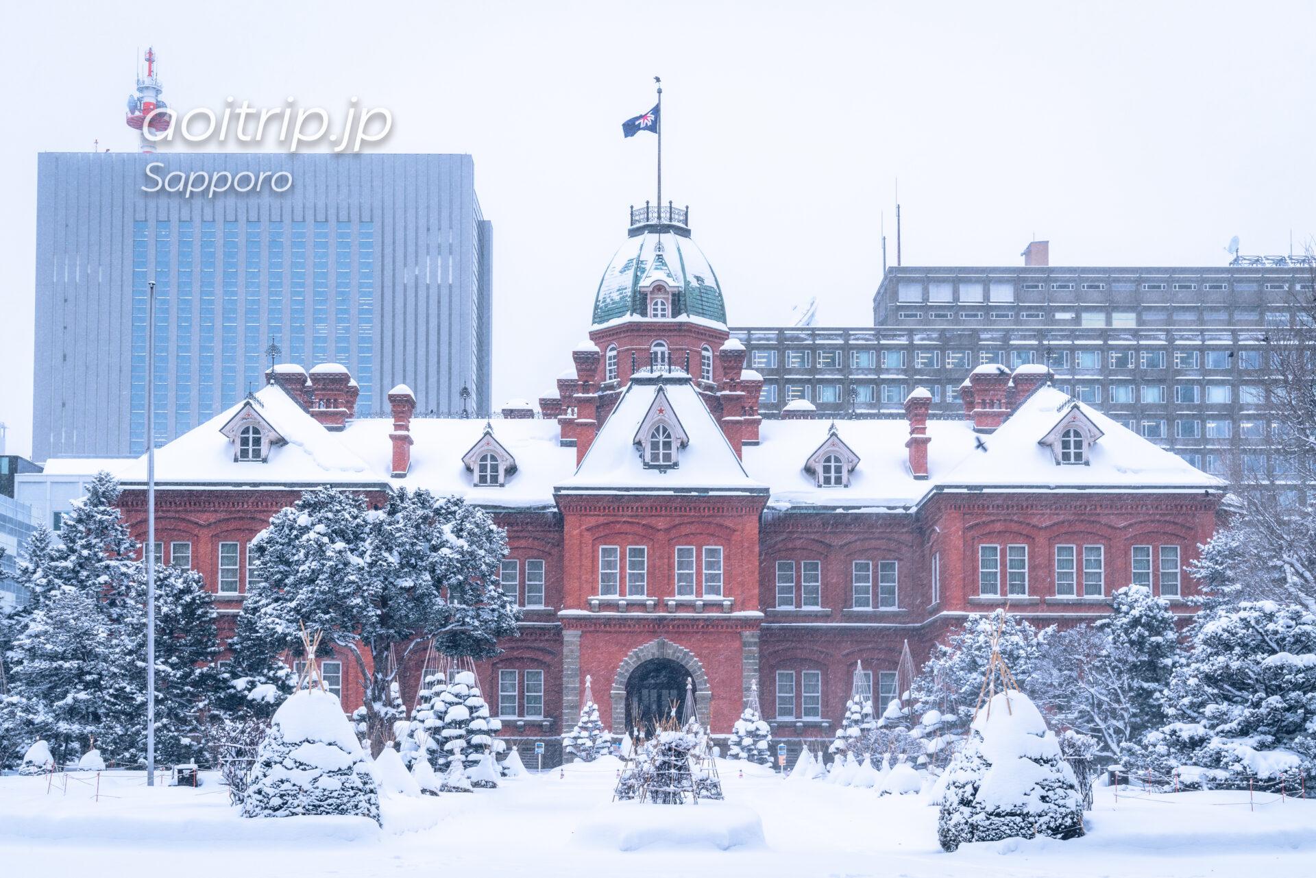 冬の北海道庁赤れんが庁舎 (旧本庁舎)