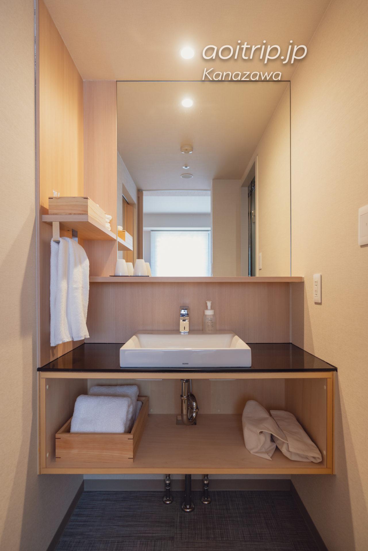 アゴーラ金沢の洗面台