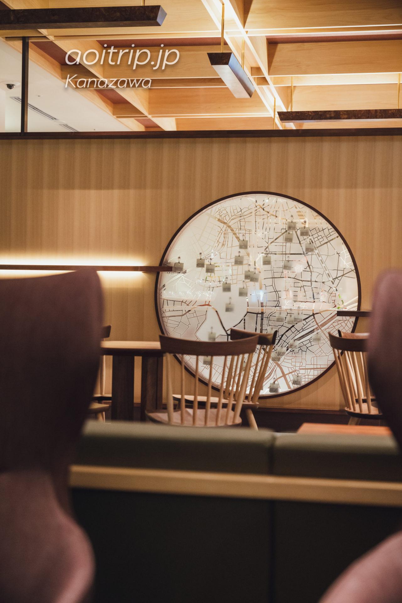 アゴーラ金沢のホテル2Fラウンジ