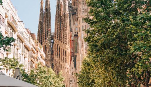 バルセロナ サグラダファミリアの目次ページ Basílica de la Sagrada Família, Barcelona