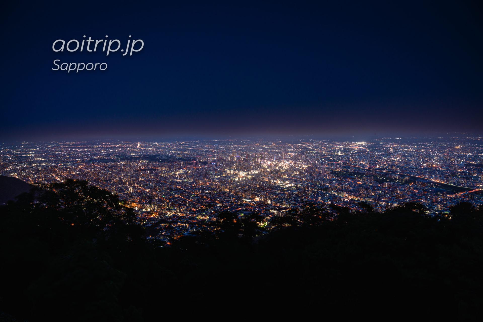 札幌 藻岩山の夜景