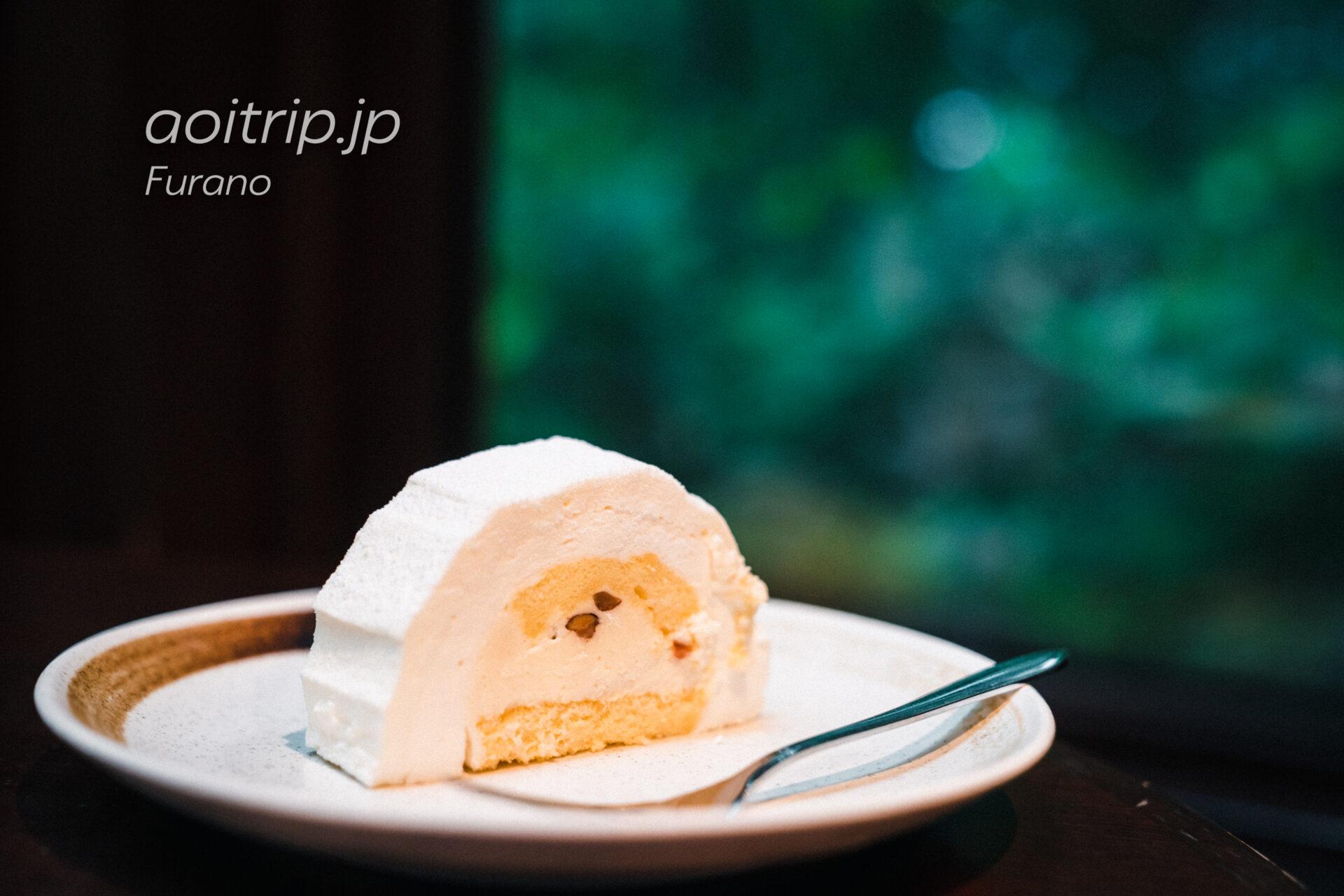 富良野・森の時計のホワイトチョコレートケーキ 根雪