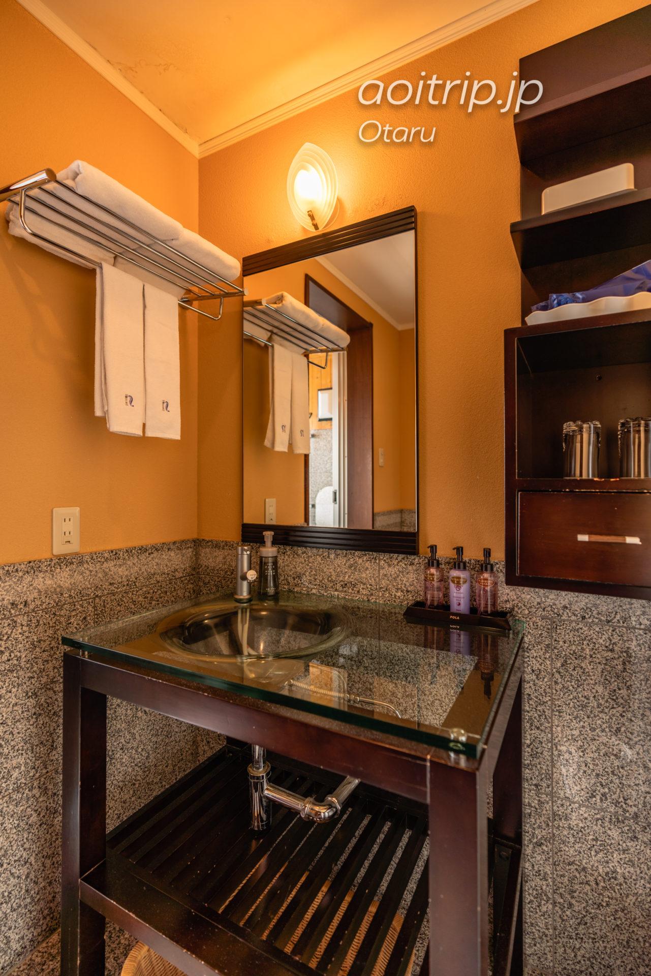 ホテルノイシュロス小樽 バスルーム