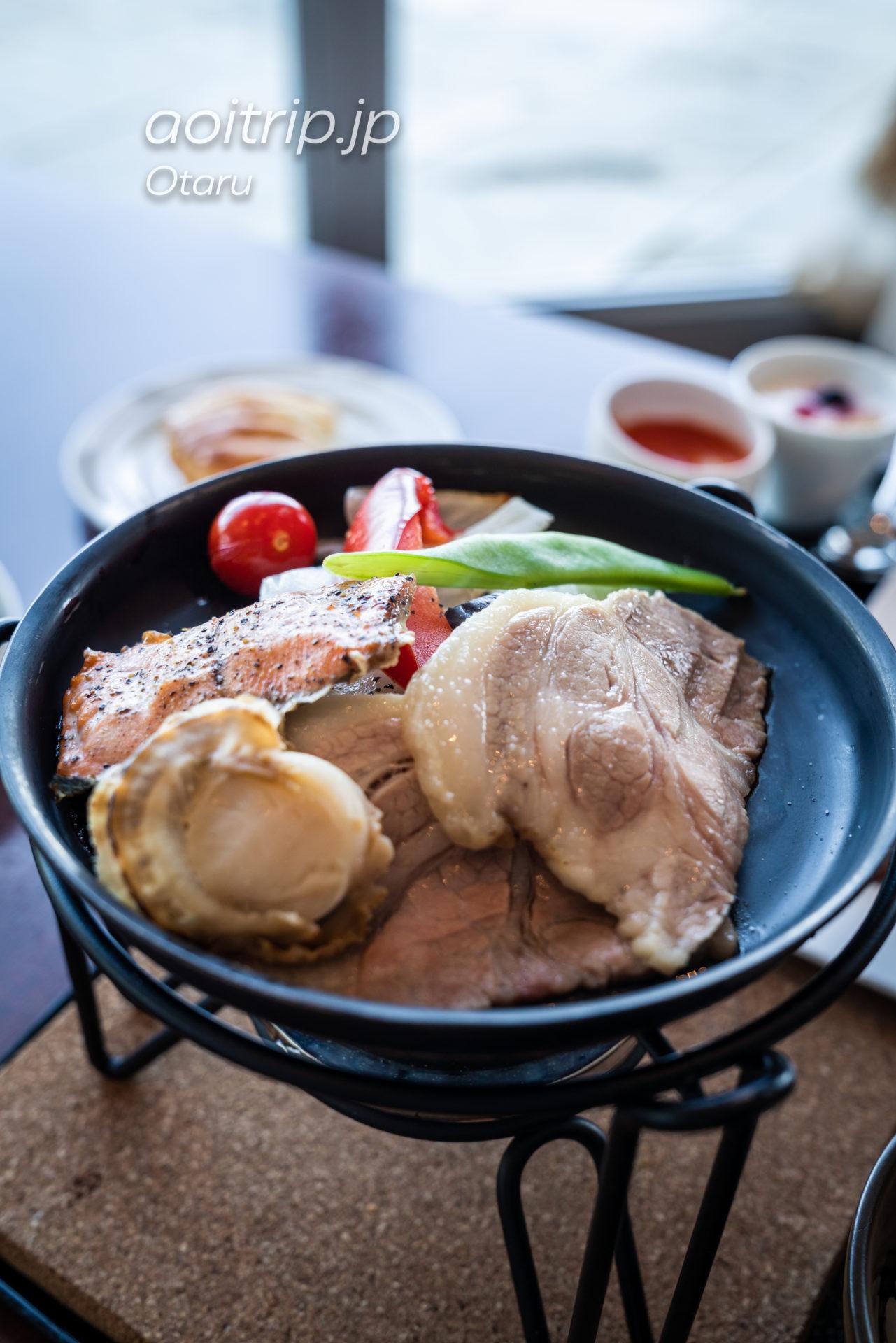 ホテルノイシュロス小樽の朝食