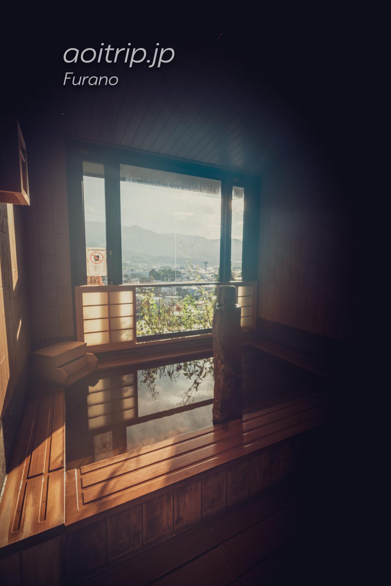 天然温泉 紫雲の湯 ラビスタ富良野ヒルズの温泉 山吹