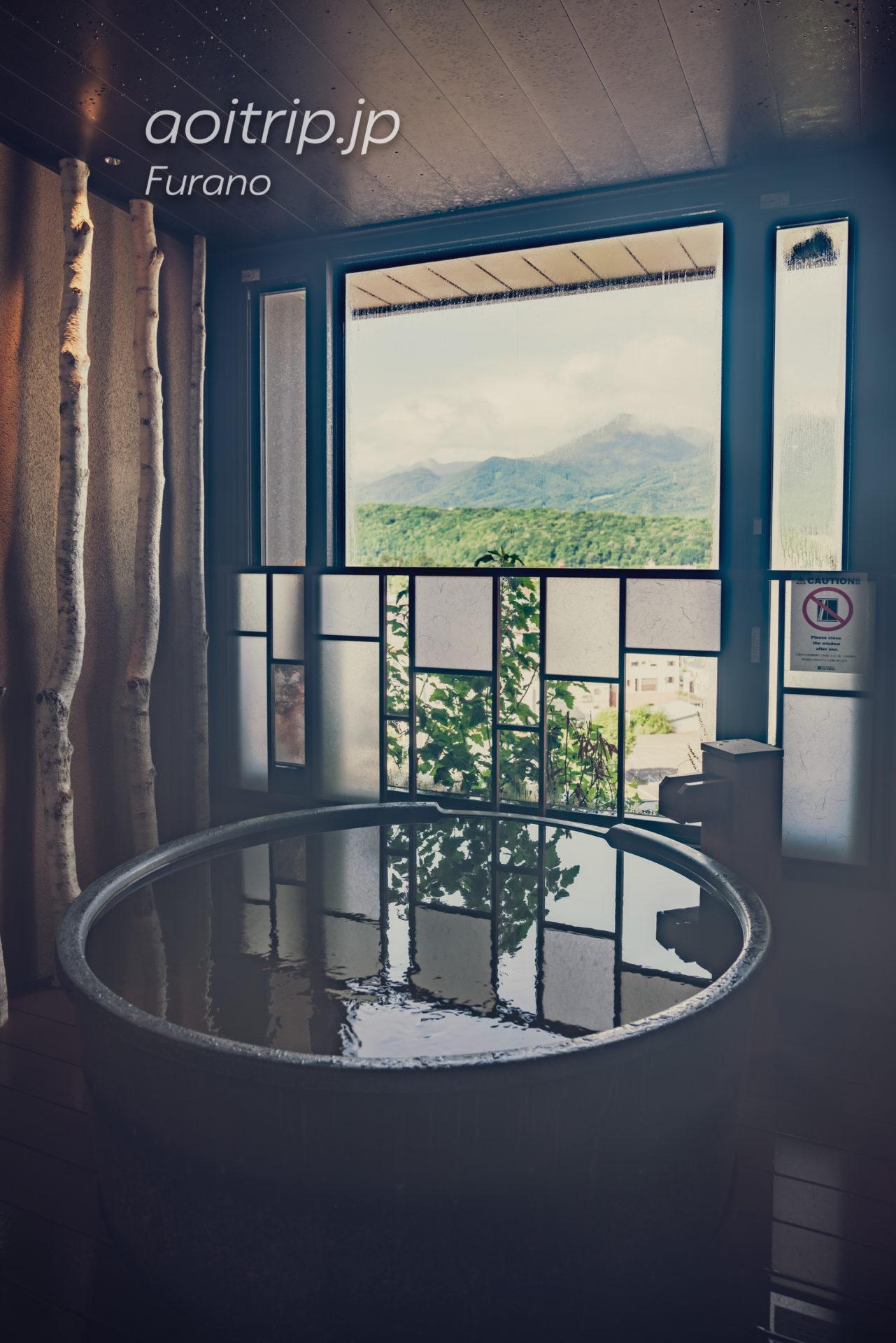 天然温泉 紫雲の湯 ラビスタ富良野ヒルズの温泉 白樺
