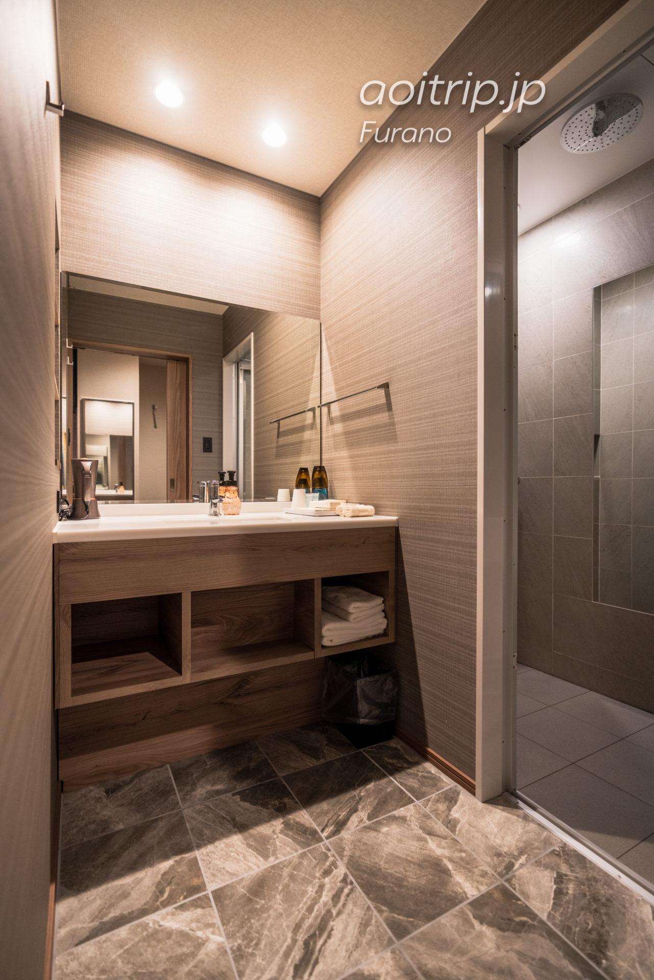富良野・ホテル一花のバスルーム