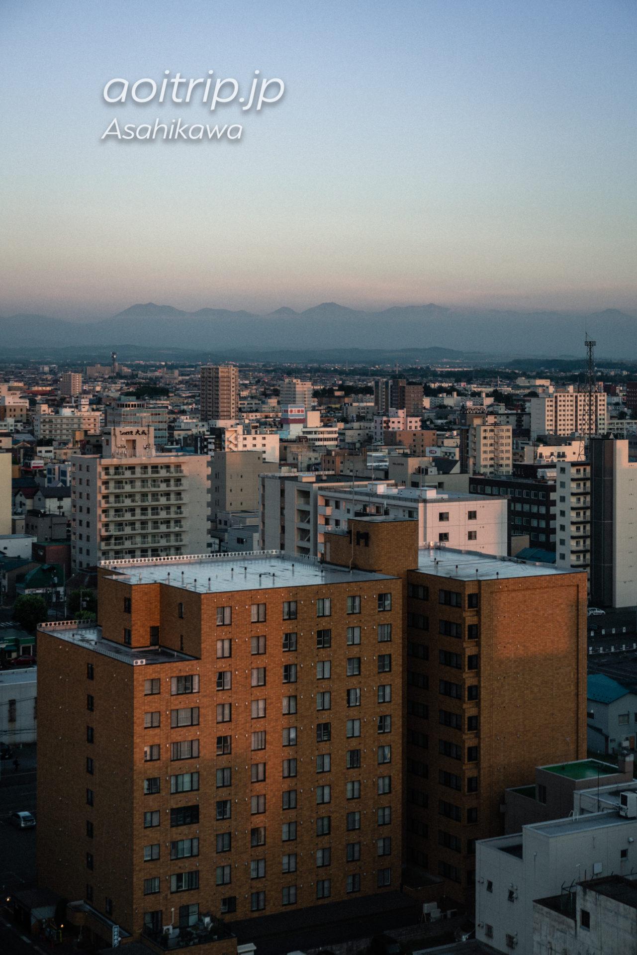 星野リゾートOMO7旭川 ダブルルームの眺望