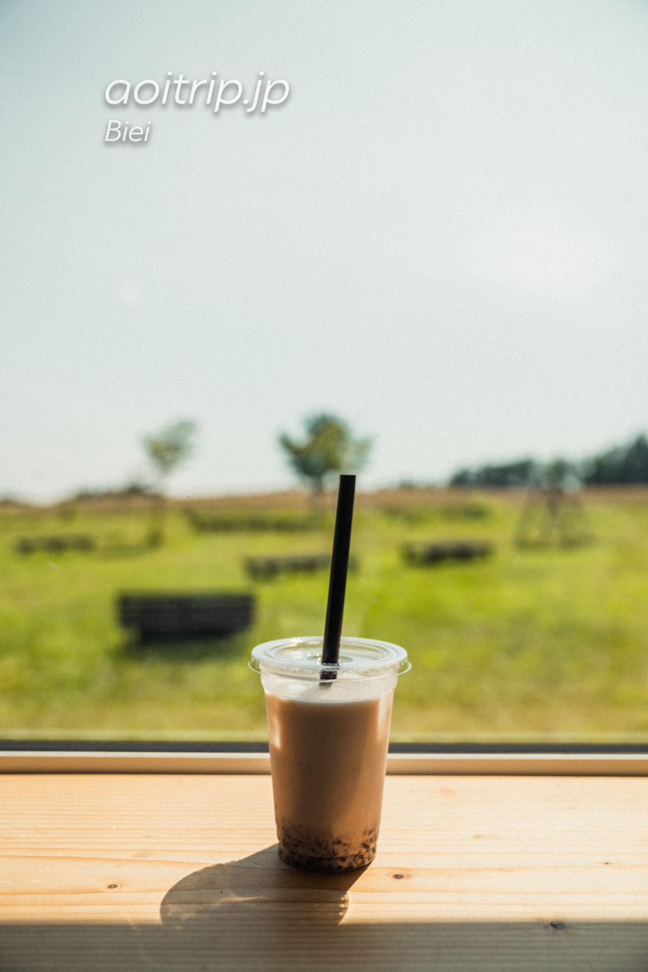 美瑛のリッカロッカ ハスカップミルク