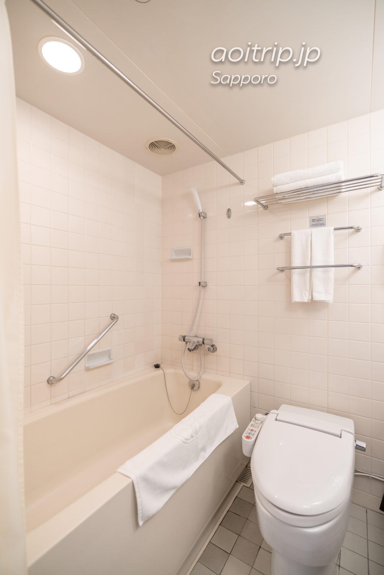 札幌ビューホテル大通公園のバスルーム