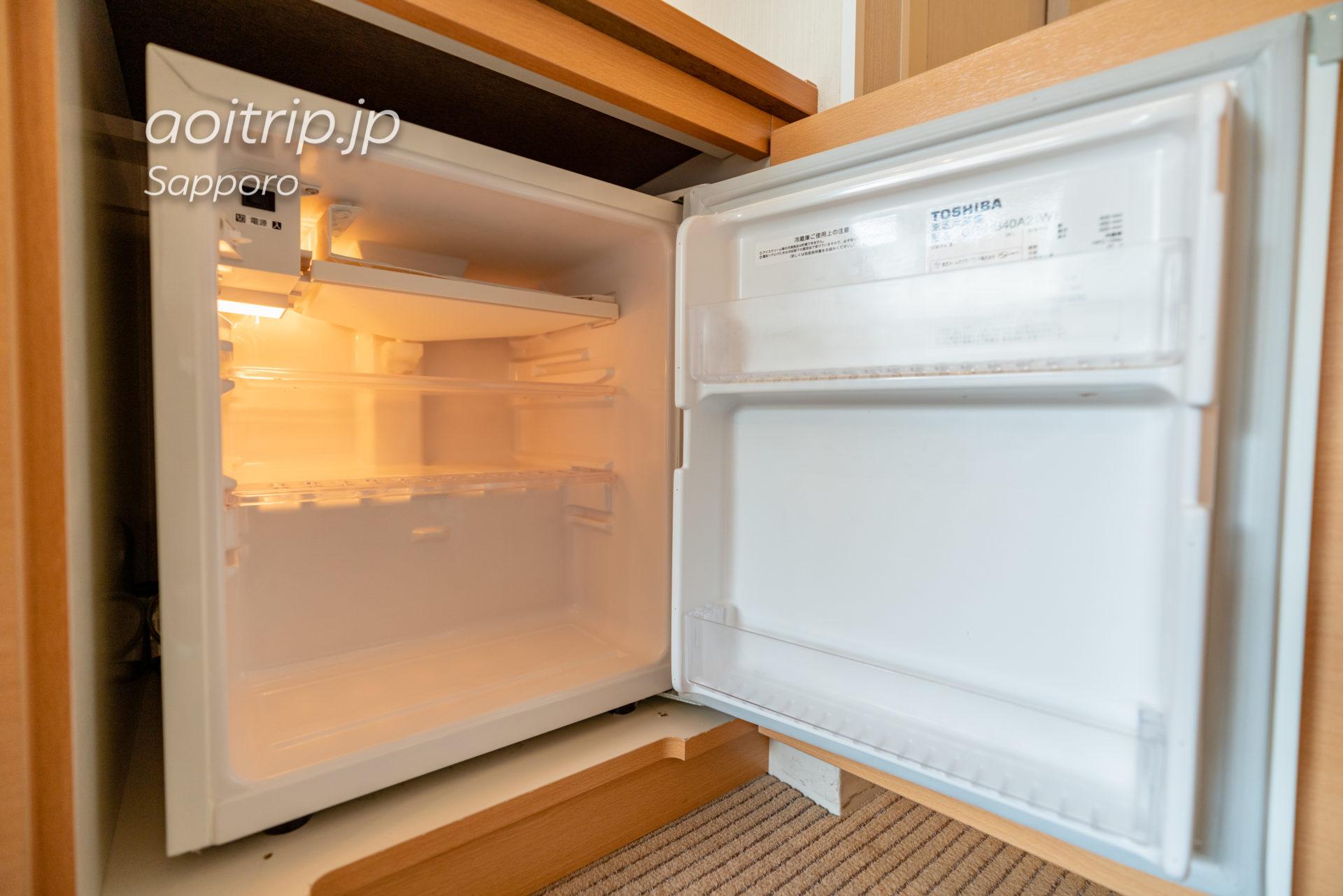 札幌ビューホテル大通公園の冷蔵庫